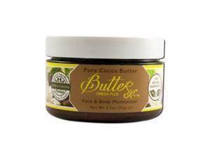 Body Butter - Cocoa - Aroma Naturals - 3.3 oz - Cream