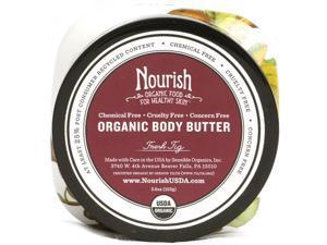 Nourish 1120823 Organic Body Butter Fresh Fig - 3.6 oz
