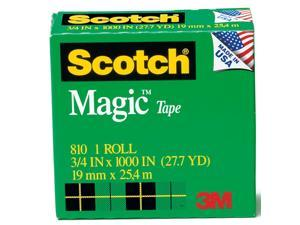 3M 810-3PK 3-Pack 3/4-inch Scotch Magic Tape Rolls