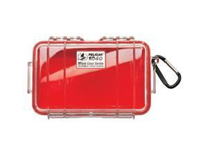 PELICAN 1040025170 1040 Micro Case (Red/Clear)