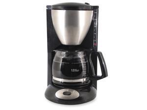 COFFEEPRO CP862B Coffeemaker 12-Cup 8inx11inx14-1/2in Black