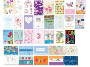 Papercraft IG64852 4-In. X 6-In. All Occasion Boxed Greeting Cards - 10-Pack
