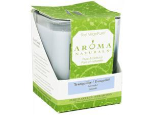 Aroma Naturals 804195 Soy Candle Tranquility Large Glass