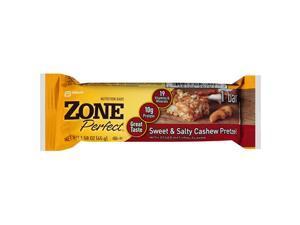 Zone Bar, Cashew Pretzl, Sw and Salt, 1.58-Ounce (Pack of 12)