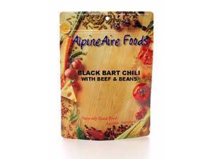 Alpine Aire Foods 10407 BlkBartChili w/Beef&Beans Serves2