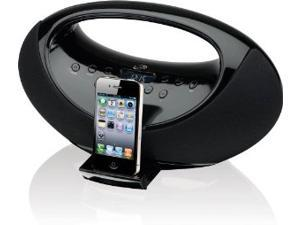 iLive IBP301B Portable Music System for iPod and iPhone