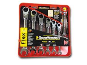 KD Tools 9900 XL Flex Head Metric Combination GearWrench Set - 7-Piece