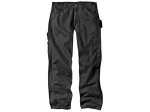 Dickies DU336RBK36X34 Rinsed Black Relaxed Fit Sanded Duck Carpenter Jeans - 36-