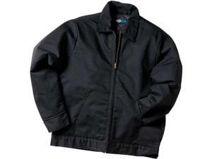Dickies TJ15BKXXL Black Lined Eisenhower Jacket - Extra Extra Large
