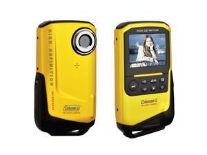 Coleman Cvw9Hdy Yellow Digital Video Camera Xtreme Full 1080P