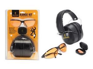 Browning 126368 Range Kit w/Hearing Prot, Glasses