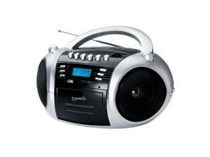 MP3CD Cassette Recorder Black