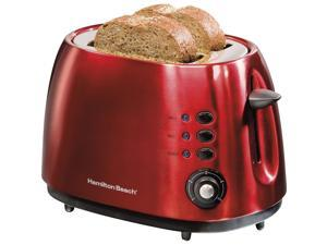 Hamilton Beach 22524E 2 Slice Metal Toaster