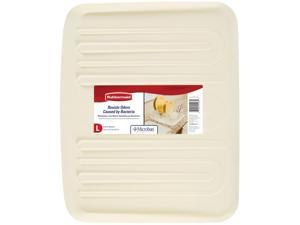 Rubbermaid 1182MABISQU Large Bisque Drain-Away Tray