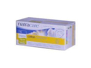 Regular Tampons w/Applicator Organic - Natracare - 16 - Tampon