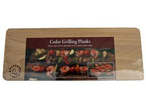Natures Cuisine NC004-2 2 Count 14 inch X 5.5 inch Cedar Grilling Plank