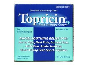 Topricin Foot Therapy Cream - Topricin - 4 oz - Cream