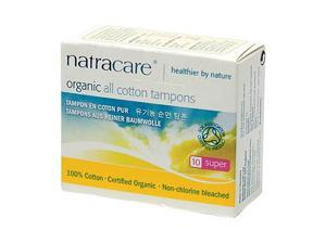 Tampons, Super Organic - Natracare - 10 - Tampon