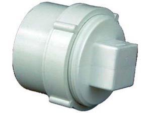 Genova Products 71640 4 inch Sch. 40 PVC-DWV Clean-Out Fitting With Threaded Plu