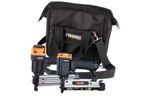 Freeman PPPBRCK Freeman 2-Piece Brad Nailer/Pinner Kit With Nails And Canvas Sto