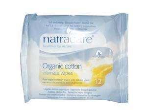 Organic Cotton Intimate Wipes - 12/1 - Packet