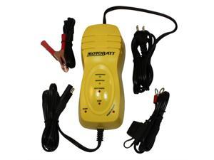 MotoBatt MBCBB Big Boy Battery Charger and Maintainer 12V at 1.25A