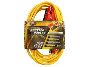 Coleman Cable 8471 12-Foot 8-Gauge Medium-Duty Booster Cables