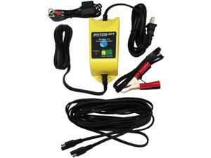 MotoBatt Water Boy Waterproof Battery Charger and Maintainer 12V at 1A Plus 25 Foot Extension