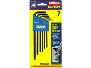 Eklind Ball-Hex-L Metric Wrench Set.
