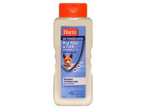 Hartz 02305 Ultraguard Rid Flea and Tick Dog Shampoo With Oatmeal