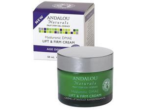 Hyaluronic DMAE Lift & Firm Cream - Andalou Naturals - 1.7 fl oz - Cream
