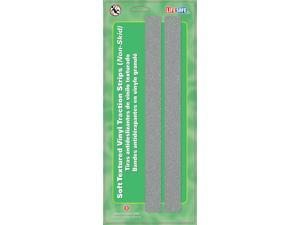 Incom Manufacturing RE6502GR 1-in X 12-in Gray Gator Grip Anti Slip Safety Grit