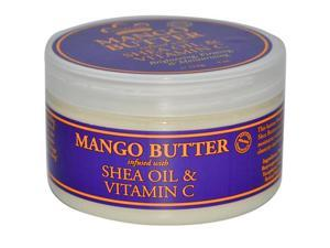 Mango Butter Infused with Shea Oil & Vitamin C - Nubian Heritage - 4 oz - Cream