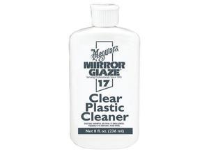 Meguiar's M1708 #17 Mirror Glaze Clear Plastic Cleaner - 8 oz.