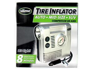 Slime COMP03 Tire Compressor with Gauge Light
