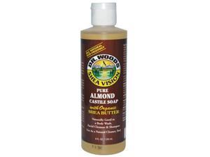 Dr. Woods 771576 Shea Vision Pure Castile Soap Almond With Organic Shea Butter 8