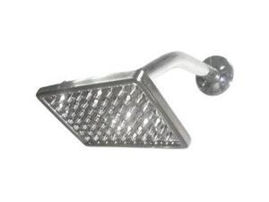 Kingston Brass K406A8 8 Inch X 4 Inch Rectangular Brass Shower Head - Satin Nickel