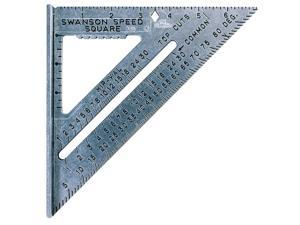 "Swanson Tool S0101 Speed Square Rafter Angle Square-7-1/2"" SPEED SQUARE"