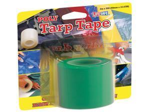 Incom Manufacturing RE6455 2-in X 35 Green Polyethylene Tarp Repair Tape