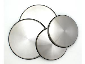 Range Kleen 550-4 Stainless Steel Round Burner Kovers Set of 4