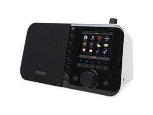 "GRACE DIGITAL AUDIO GDI-IRC6000W Wi-Fi Internet Radios with 3.5"" TFT Color Screen (White)"
