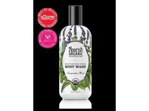 Nourish Organic Moisturizing Cream Organic Body Wash, Lavender Mint - 10 Fl. Oz.