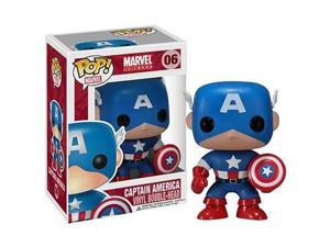Captain America POP Vinyl Bobble Head