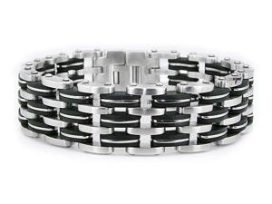Stainless Steel Men's Biker Link Bracelet