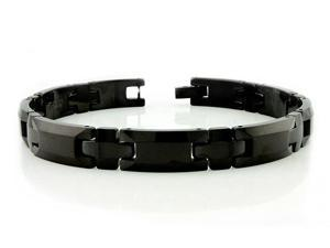 Black Tungsten Carbide Bracelet