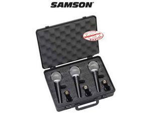SAMSON DYNAMIC MICROPHONE 3 PACK R21