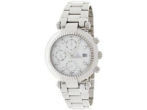 Swiss Precimax Women's Avant SL SP12126 Silver Stainless-Steel Swiss Multifunction Watch with Mother-Of-Pearl Dial