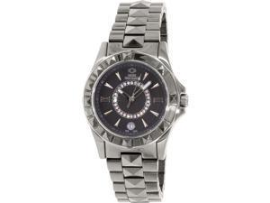 Swiss Precimax Women's Fiora SP13171 Grey Ceramic Swiss Quartz Watch with Grey Dial
