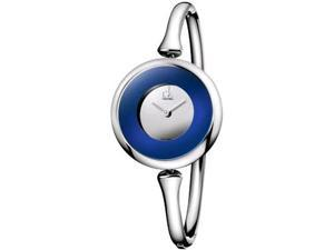 Calvin Klein Women's Sing K1C24806 Stainless-Steel Quartz Watch with Blue Dial