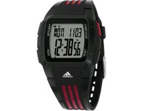 Adidas Men's Duramo ADP6010 Black Resin Quartz Watch with Grey Dial
